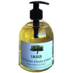Savon huile d'olive aux Aromates 500ml