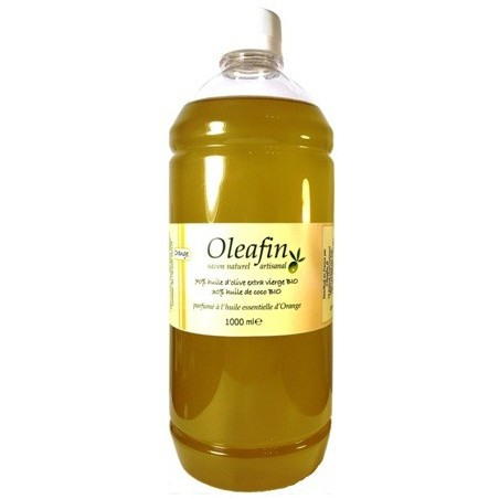 Savon huile d'Olive et Coco BIO Orange 1L
