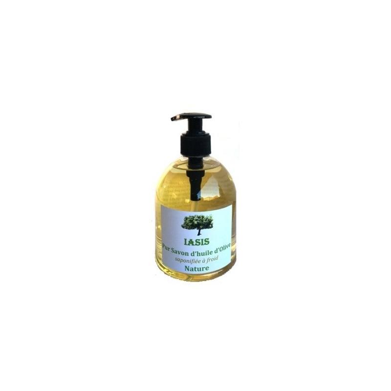 Savon d'huile d'olive Nature 500ml