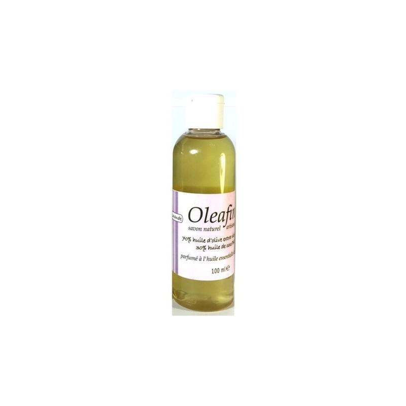 Savon liquide OLEAFIN 100ml parfumé Lavande
