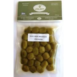 Olives Atalanti Vertes BIO dénoyautées 210g