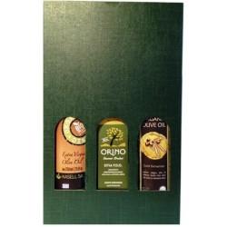 Coffret Huiles d'Olive BIO renommées